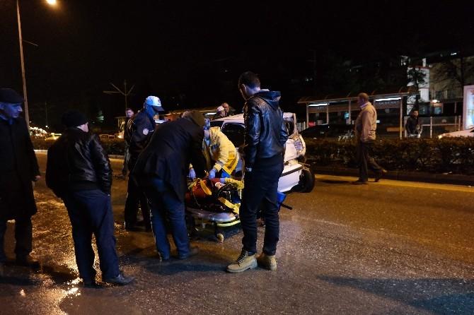 Eskişehir'de Trafik Kazası: 4 Yaralı