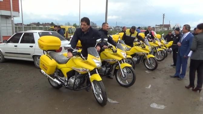 PTT'ye 11 Yeni Motosiklet