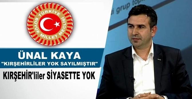 Dünya Kırşehirliler Derneği Oluşum Başkanı'ndan Siyasi Partilere Sitem