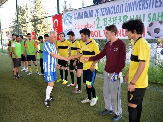 Adana BTÜ 2. Bahar Halı Saha Turnuvası Başladı