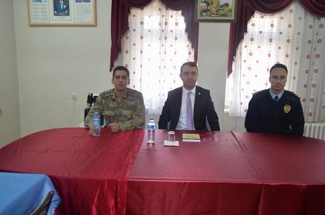 Gürün'de Seçim Güvenliği Toplantısı Yapıldı