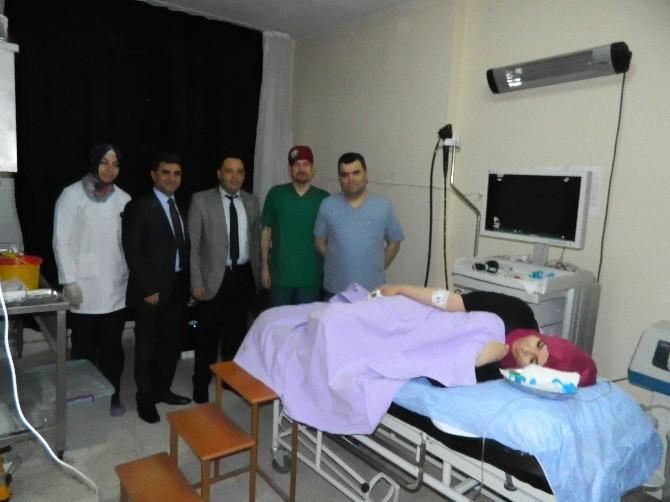 Doğanşehir Devlet Hastanesi'nde Bir İlk Daha