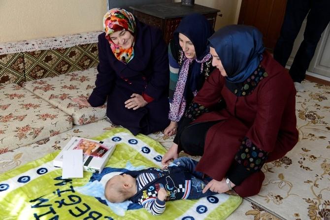 Meram Belediyesi 4 Bin Aileye Bebek Ziyareti Gerçekleştirdi