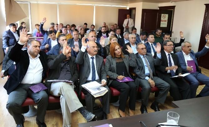 Mezitli Belediye Meclisi, Nisan Ayı Toplantısını Yaptı
