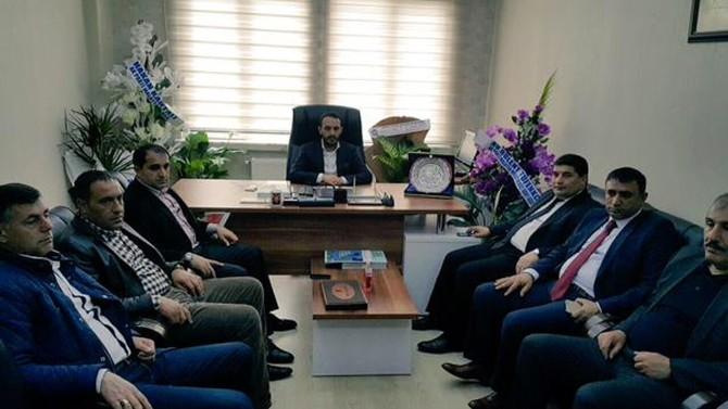 MÜSİAD, AK Parti Gençlik Kolları Başkanı Aydoğan'ı Ziyaret Etti