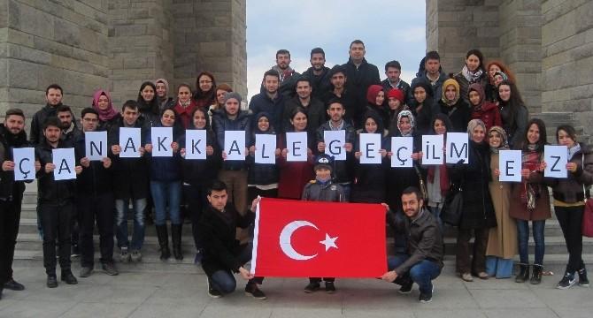 Amasya Üniversitesi Öğrencileri Çanakkale Şehitliğini Gezdi