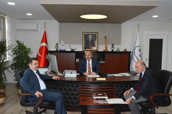 Başkan Genç'ten DSİ Bölge Müdürü Berber'e Ziyaret