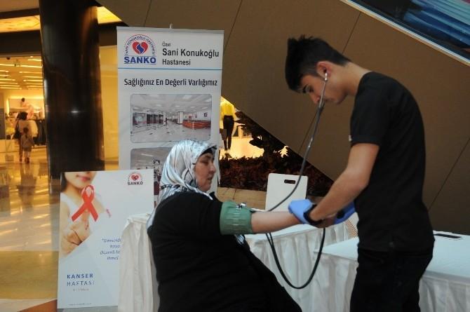 Sanko Park'ta Kanser Haftası Etkinliği