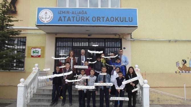Türk Hava Kurumu'ndan Öğrencilere Model Uçak Eğitimi