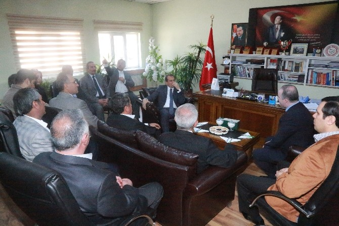Vali Taşyapan'dan Başkan Özgökçe'ye Ziyaret