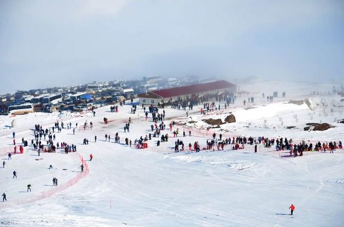 Yıldız Dağı'nda Kayak Sezonu Sona Erdi