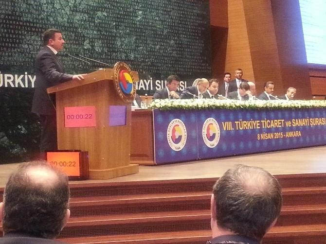 Yozgat TSO Başkanı Özışık, Yozgat'ın Sorunlarını Davutoğlu'na Aktardı