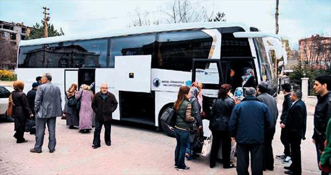 3 bin 500 Altındağlı Çanakkale yolcusu