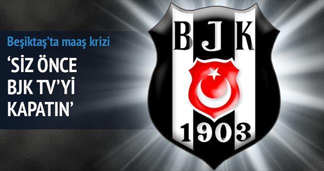 Siz önce BJK TV'yi kapatmakla başlayın!