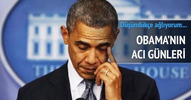 Barack Obama: Düşündükçe ağlıyorum