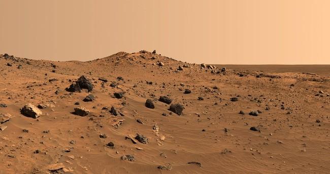 Mars'ta 150 milyar metreküp su