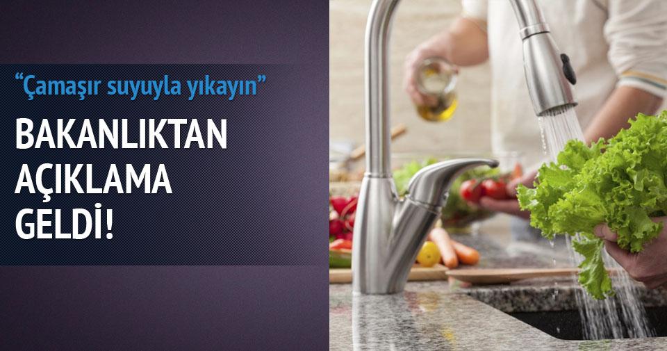 Meyveler çamaşır suyuyla yıkanır mı?