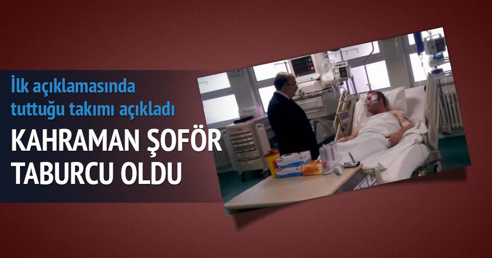 Fenerbahçe'nin otobüs şoförü Ufuk Kıran taburcu oldu