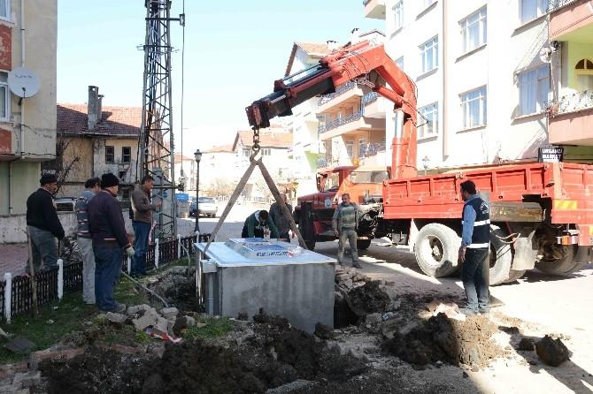 İnebolu'da Çöp Konteynırları, Yer Altına Alındı