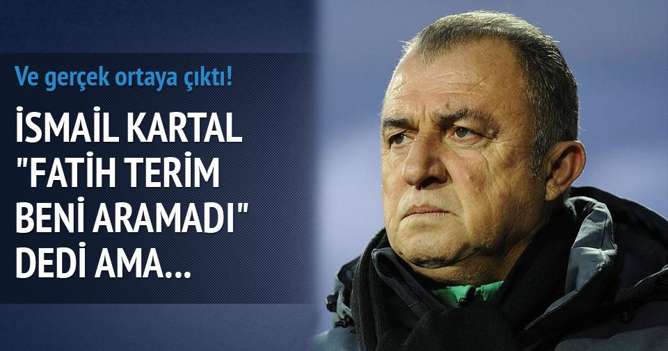 FATİH TERİM'DEN İSMAİL KARTAL'A YANIT