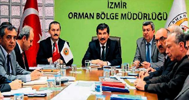 İzmir Orman Bölge Müdürü Şahin Aybal işbaşı yaptı