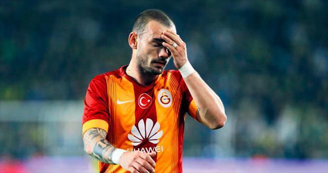 Wesley Sneijder korkuttu