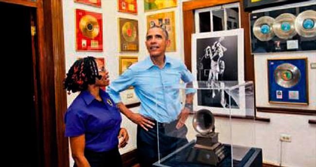 Jamaika'da ilk durak Bob Marley müzesi