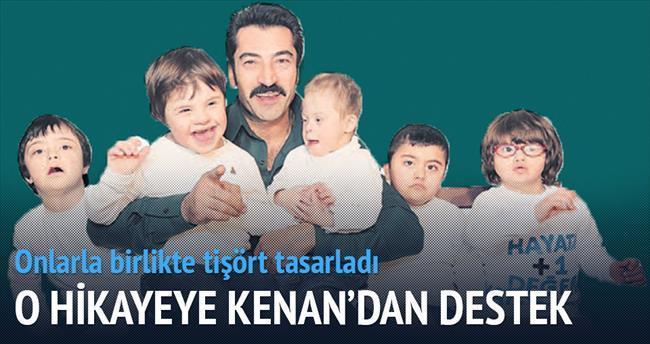 'Karadayı' Kenan İmirzalıoğlu, Down Sendromlu çocuklar için tişört tasarladı