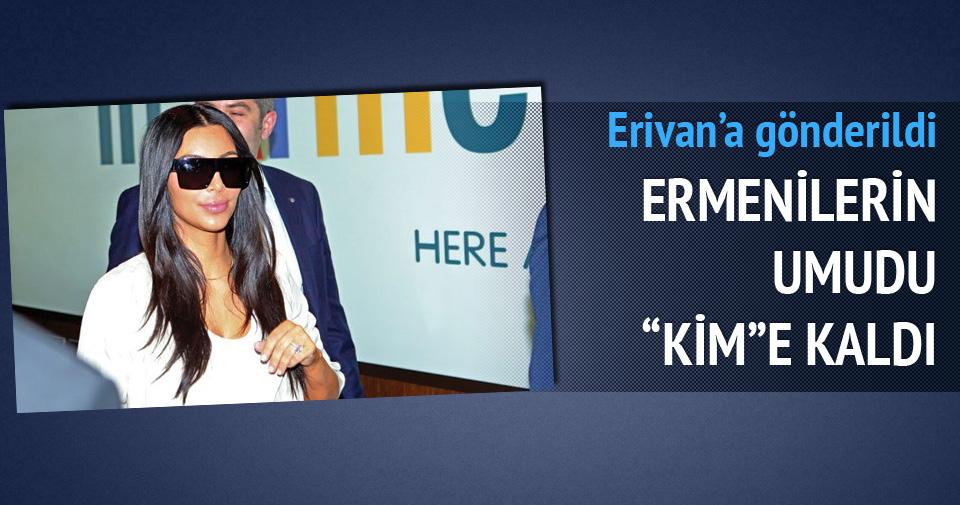 Ermenilerin yeni umudu Kim Kardashian