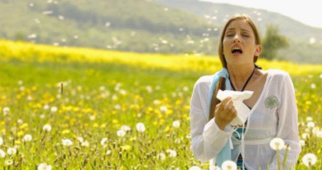 Mevsimsel alerjisi olanlara öneri