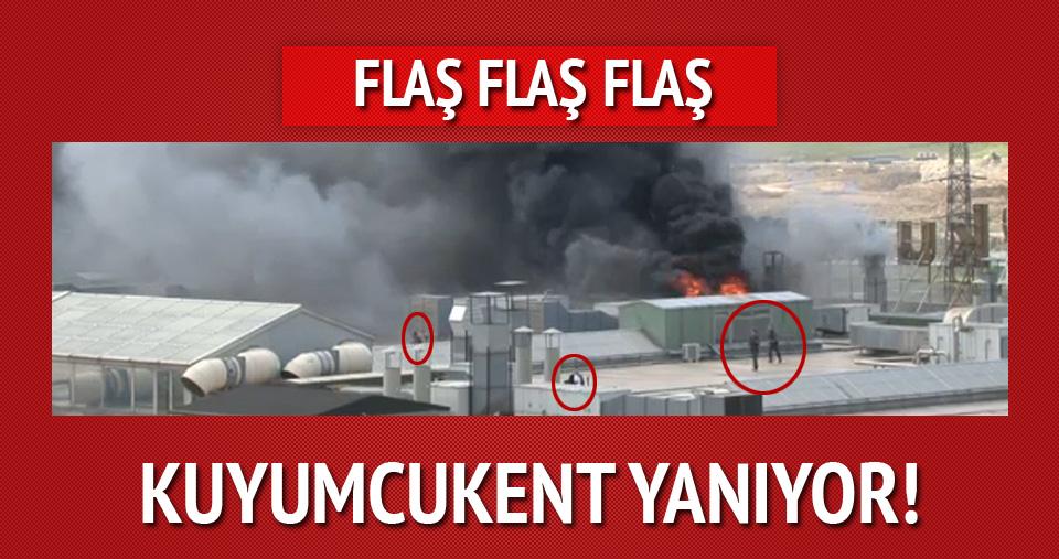 Kuyumcukent'te büyük yangın