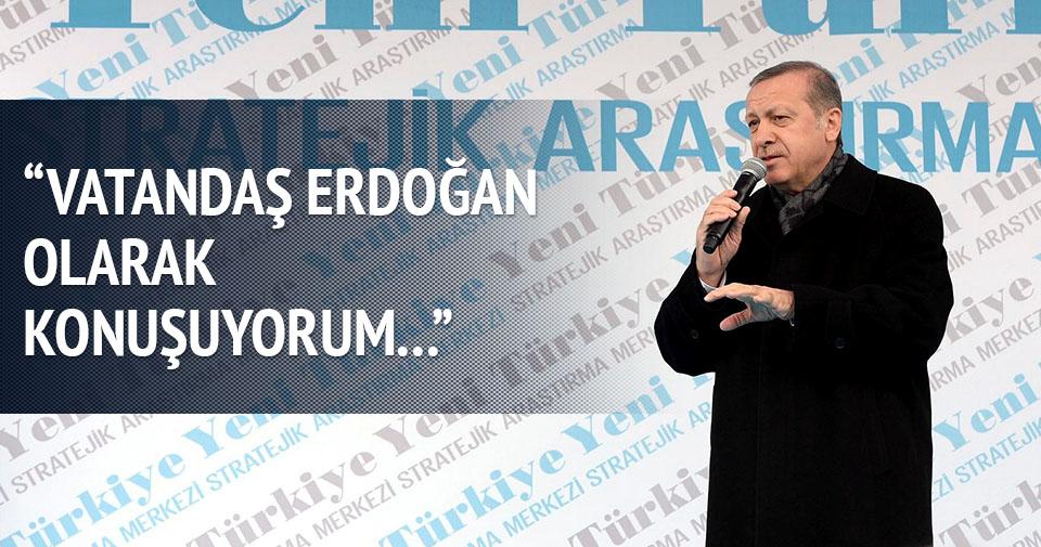 Erdoğan: Yeni Türkiye bizim kızıl elmamız