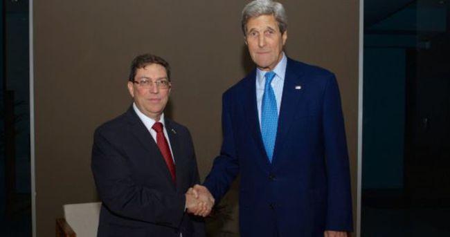 ABD ile Küba arasında 56 yıl sonra ilk buluşma
