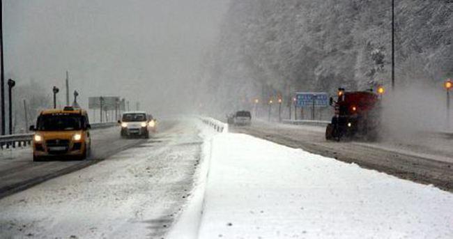 Bolu Dağı'nda kar kalınlığı 30 cm