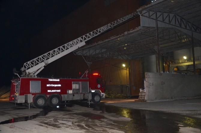 Yalıtım Fabrikasında Yangın