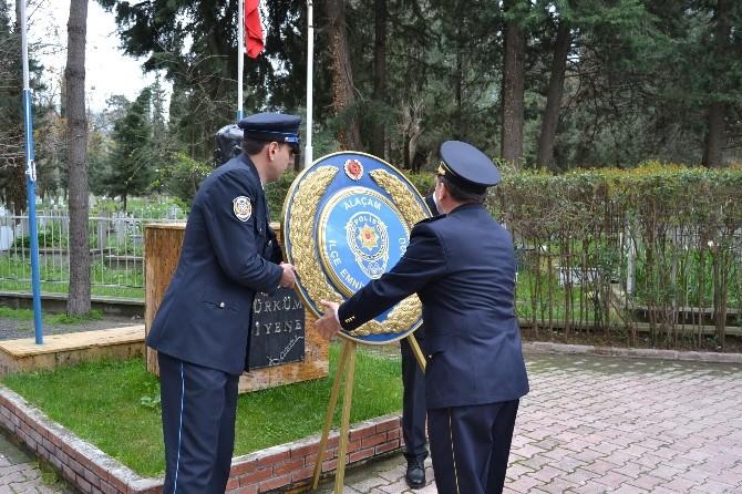 Alaçam'da Polis Haftası Kutlaması