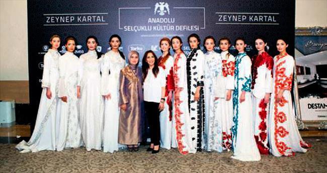 Selçuklu kültürünü modaya taşıdı