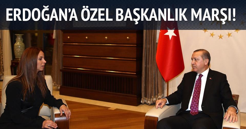 Niran Ünsal'dan Erdoğan'a 'Başkanlık' marşı!