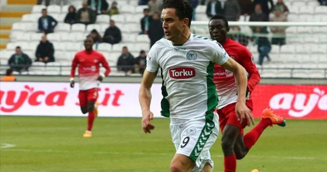 Konyaspor'un forvetleri gole hasret
