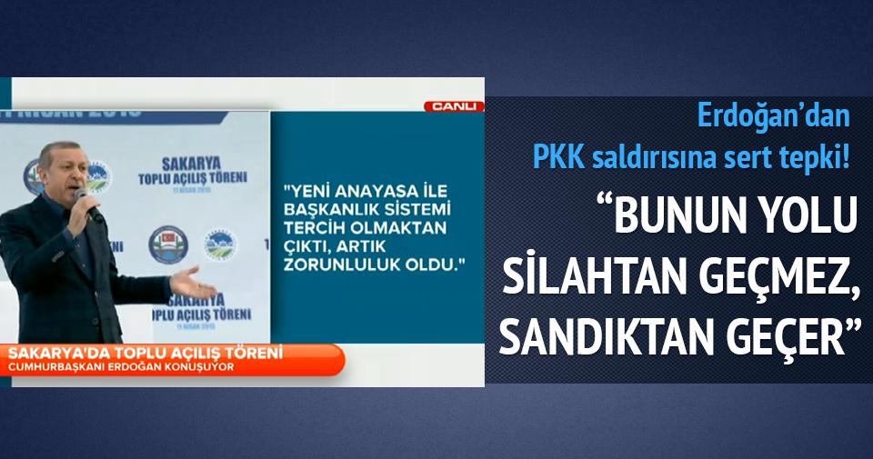Erdoğan: 25 terörist askerlerimize saldırıda bulundu