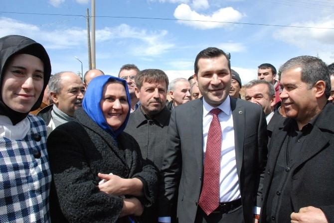 AK Parti Milletvekili Adayı Özekin Uşak'a Geldi