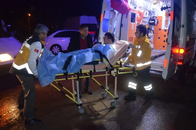 Maganda Kurşunu İki Şahsı Yaraladı