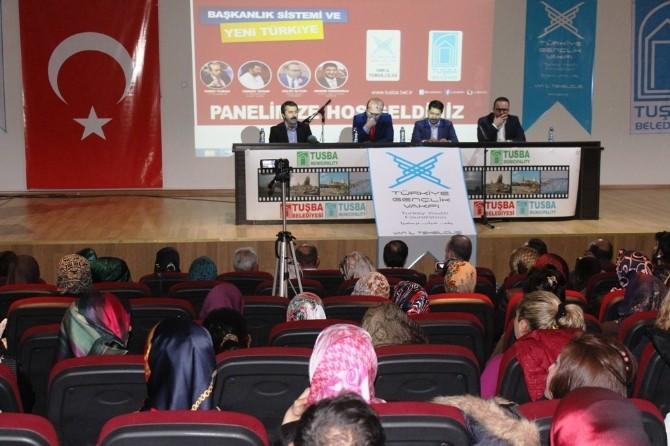 Van'da Başkanlık Sistemi Ve Yeni Türkiye Konulu Panel