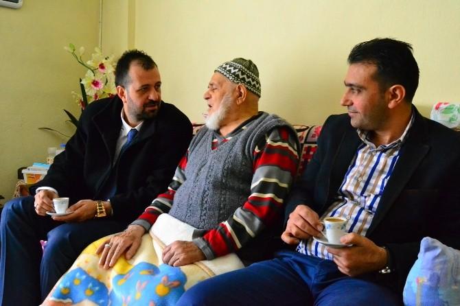 Başkan Vekili Koyuncu'dan Yaşlı Çifte Ziyaret