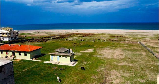 Denize sıfır köy okulu turizm merkezi olacak