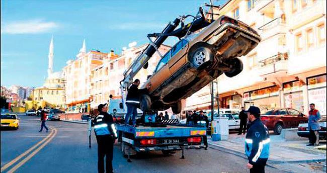Keçiören hurda araçlardan kurtuluyor