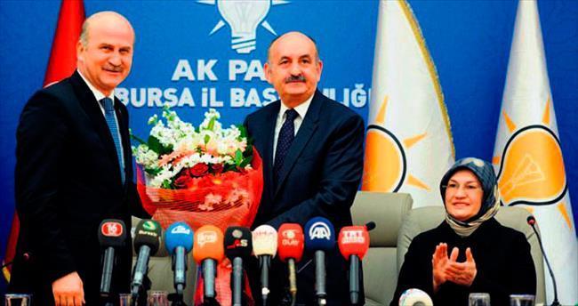 Bakan Müezzinoğlu Bursa'ya adapte oldu