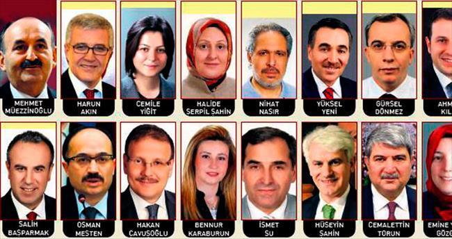İşte AK Parti adayları