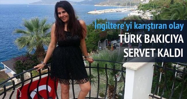 Türk bakıcıya servet bıraktı
