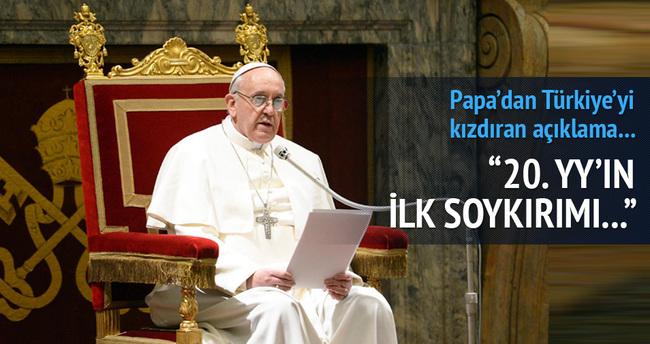 Papa 1915 olaylarına 'Soykırım' dedi